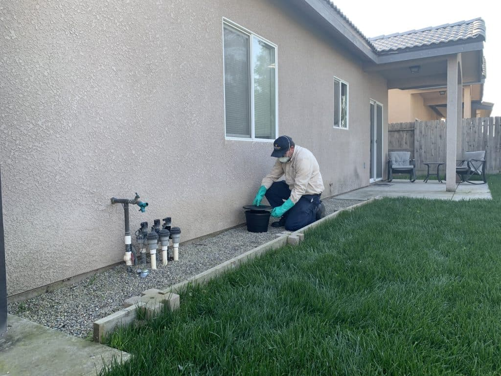 Installing an in2care system for mosquitoes